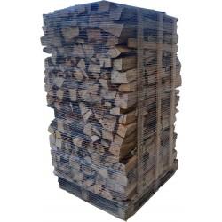 bois de chauffage sur palette 30cm