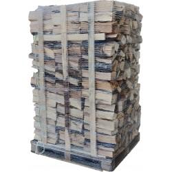 bois de chauffage sur palette 40cm - 2
