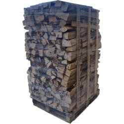 bois de chauffage sur palette 40cm -3